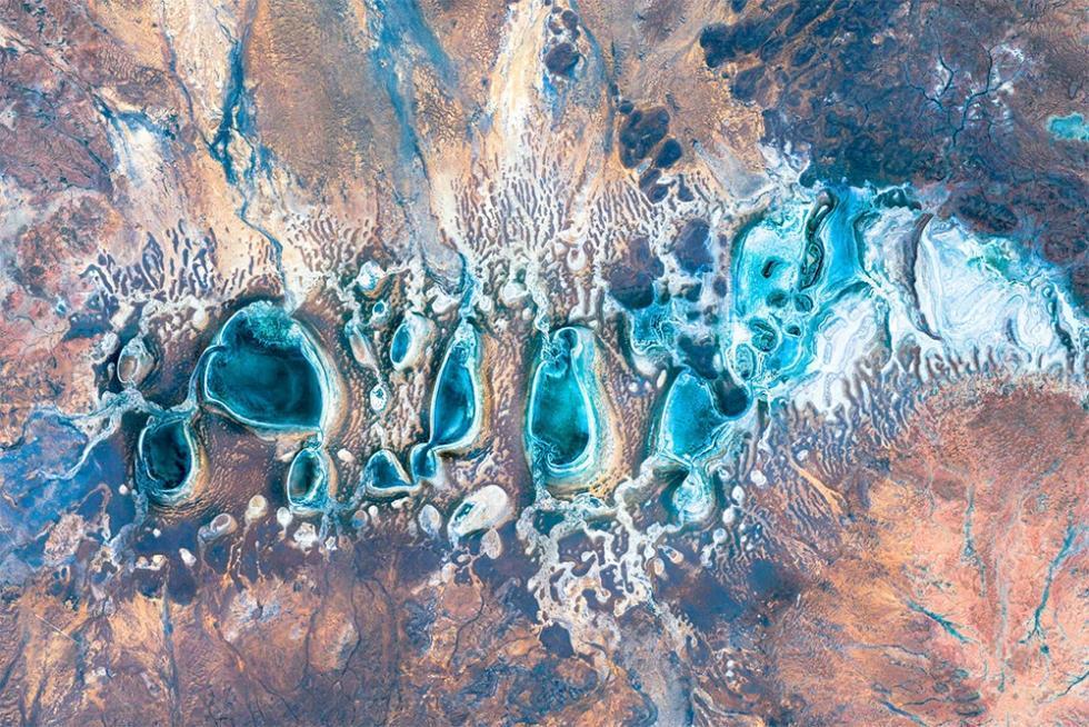 10 عکس Google Earth