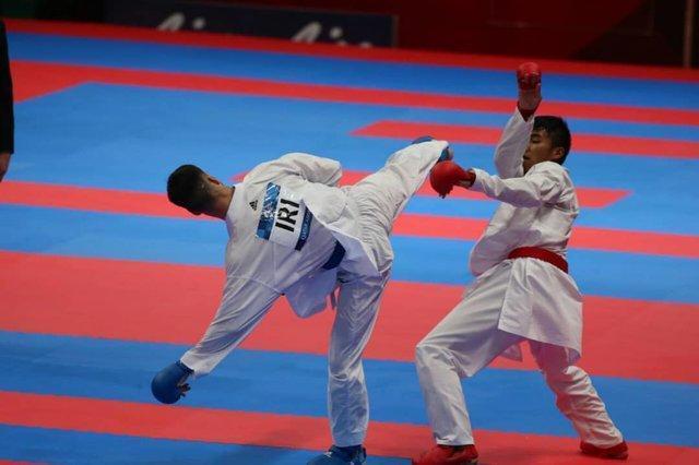حذف 6 کاراته کای ایران از تاتامی برلین، مهدی زاده در انتظار برنز