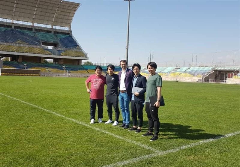ژاپنی ها استادیوم شهید کاظمی را برای تمرینات شان انتخاب کردند