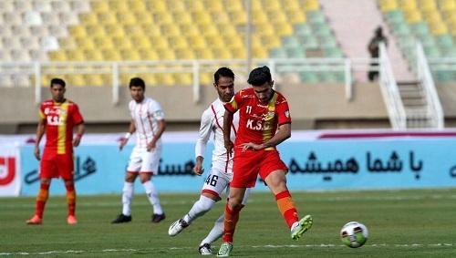 هفته دوازدهم لیگ برتر فوتبال فولادخوزستان - سپیدرودرشت، شاگردان جادوگر به دیوار فولادی رسیدند