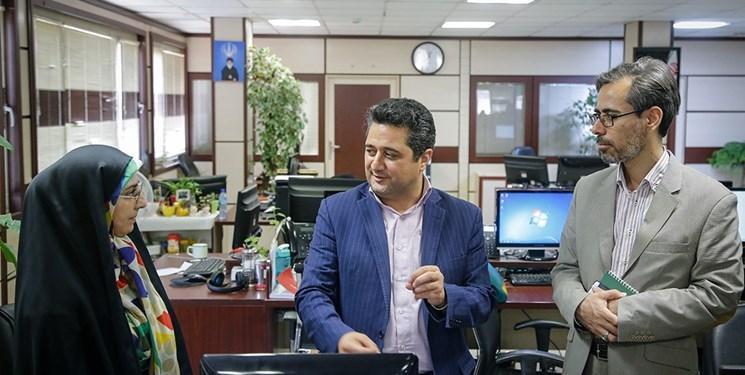 مدیرکل روابط عمومی وزارت علوم از خبرنگاران بازدید کرد