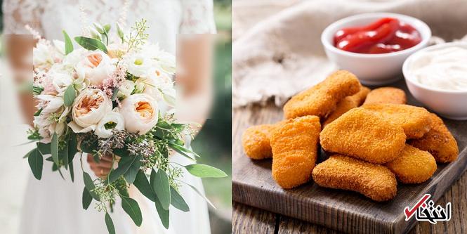عجیب ترین دسته گل عروس سال 2019 ساخته شد