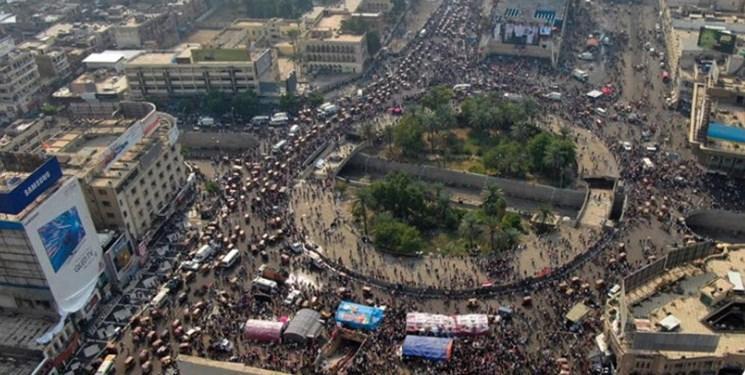 تصاویر امروز میدان التحریر بغداد و کاهش حضور معترضان