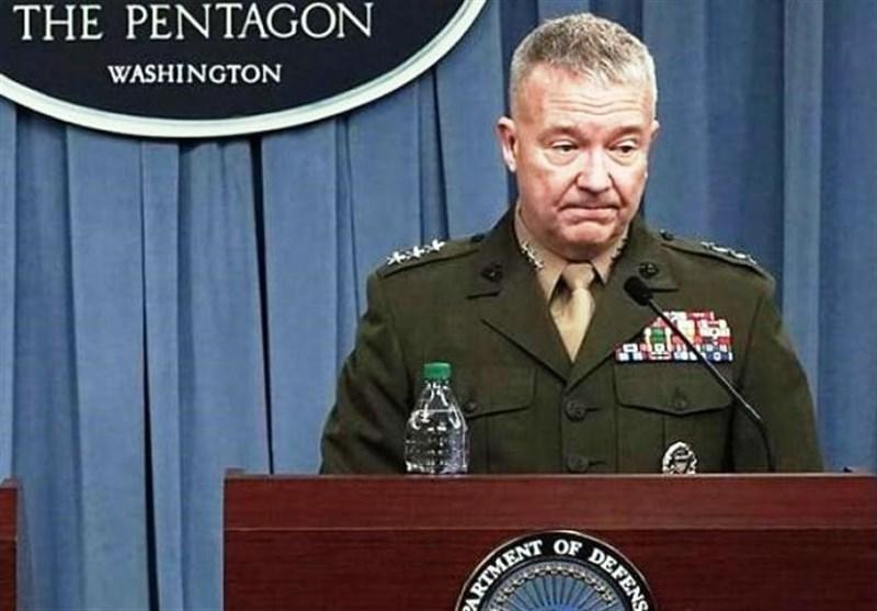 اظهارات فرمانده تروریست های آمریکایی پس از نقض مجدد حاکمیت عراق