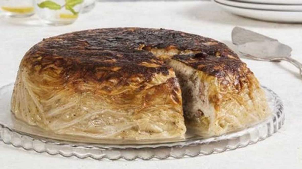 چگونه کیک کلم عربی درست کنیم؟
