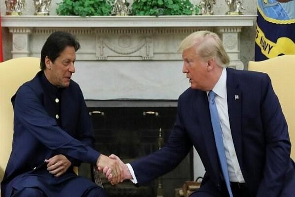 ترامپ با نخست وزیر پاکستان تلفنی مصاحبه کرد