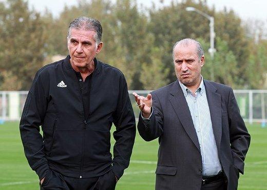 پاداش 20 درصدی به کی روش بدون مصوبه هیئت رئیسه فدراسیون فوتبال!