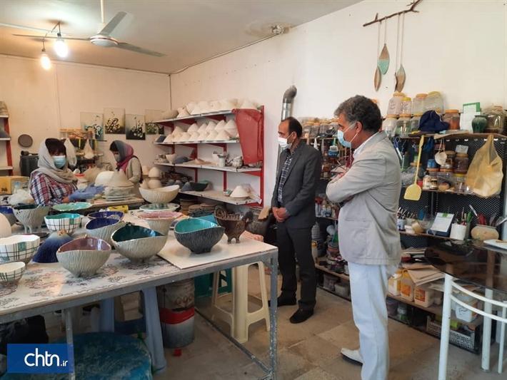 واگذاری زمین برای کارگاه فراوری صنایع دستی در روستای امان آباد اراک