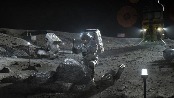سفر اولین فضانورد زن به ماه تا 2024