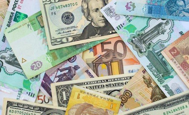 نرخ رسمی 47 ارز ، کاهش قیمت یورو و پوند