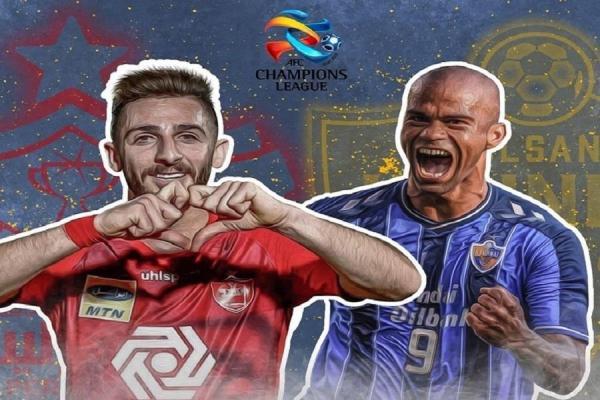 محمدرضا احمدی فینال لیگ قهرمانان آسیا را گزارش می نماید