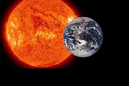 13 دی زمین در کمترین فاصله با خورشید قرار می گیرد